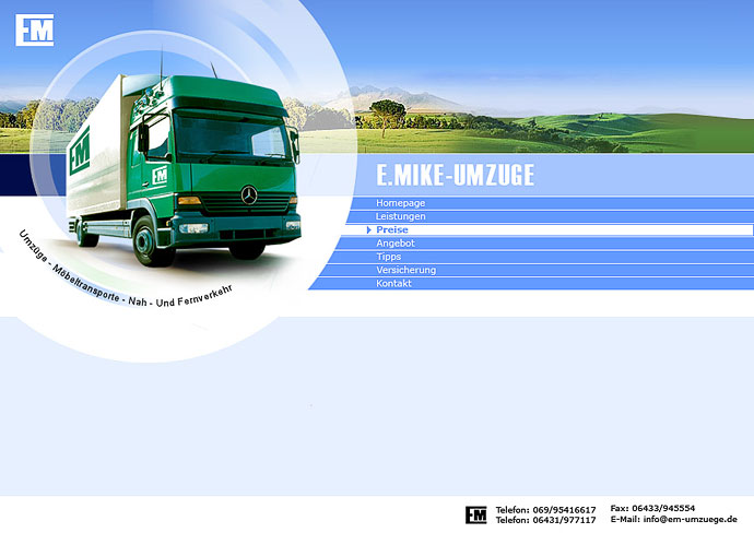 em-umzuege (php web commerce design)
